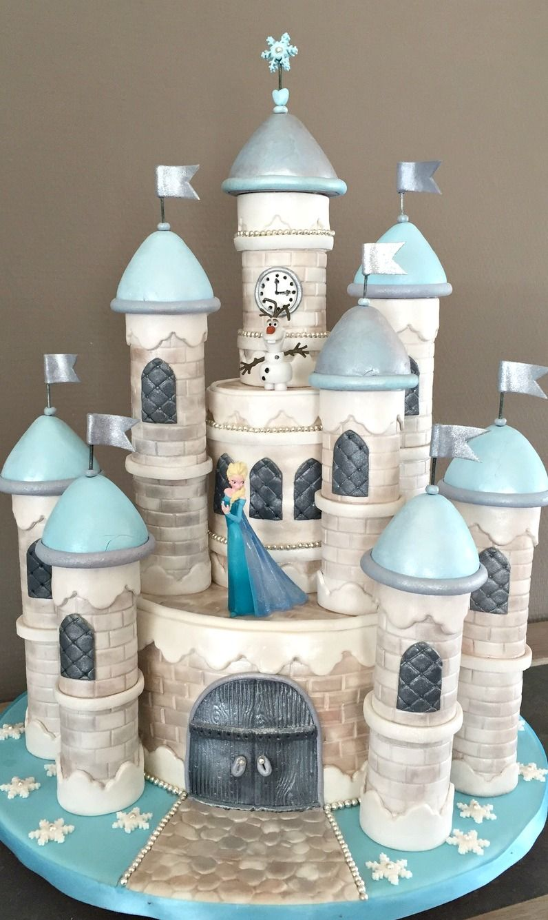 Cake Art Promo Code : Frozen Castle Cake #coupon code nicesup123 gets 25% off at ...