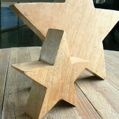 bois brut2 Etoile à en tailles poser style scandinave kiOPXZuT