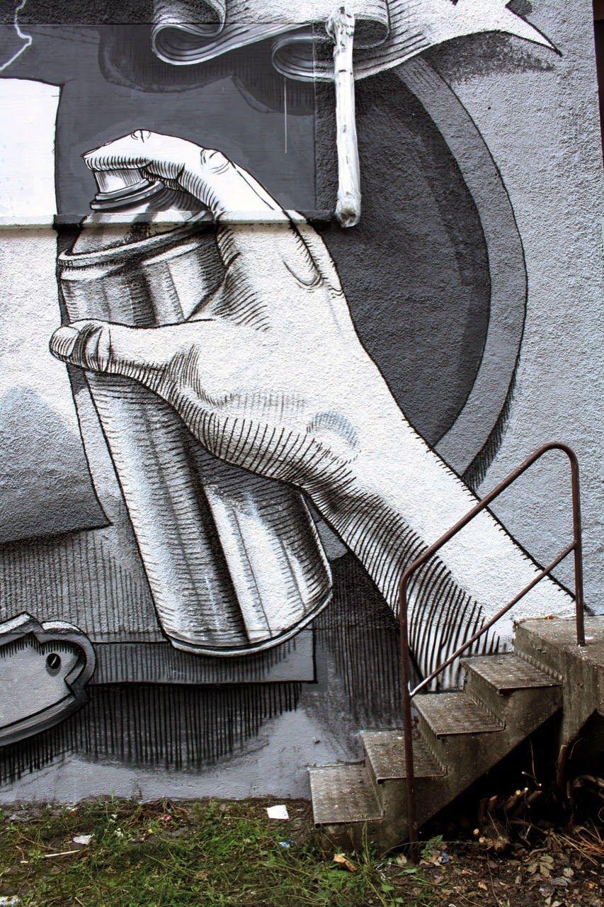 Street Art By Dome In Munich Germany Street Art Street Art