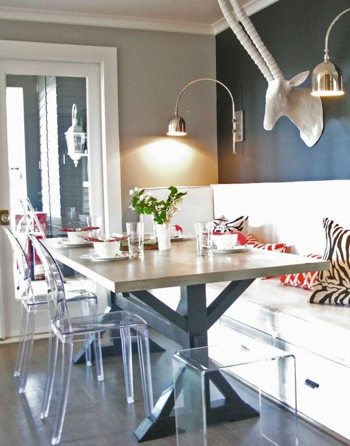 Pourquoi choisir la chaise design transparente 40 raisons en photos chais - Chaise ikea transparente ...