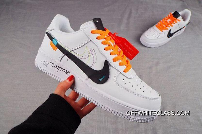 Men Nike Air Force 1 Custom Off White SKU:69304 262 Best in