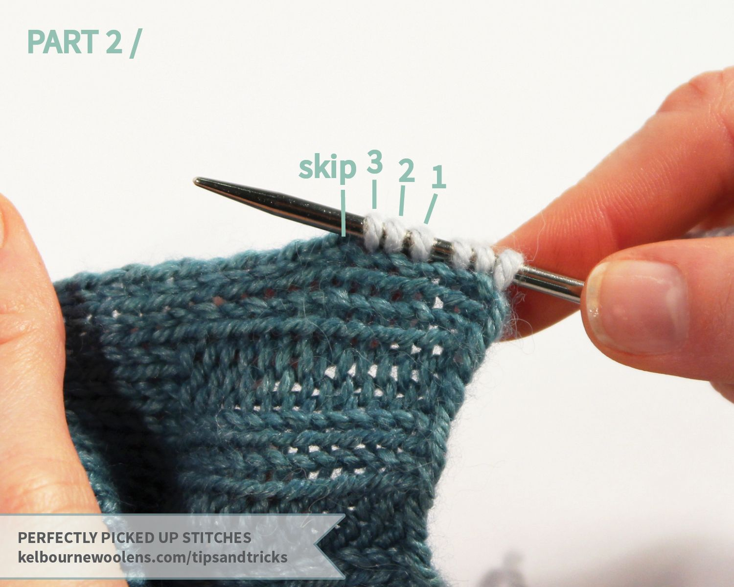 KW Tips + Tricks: Picking Up Stitches | Knitting techniques ...
