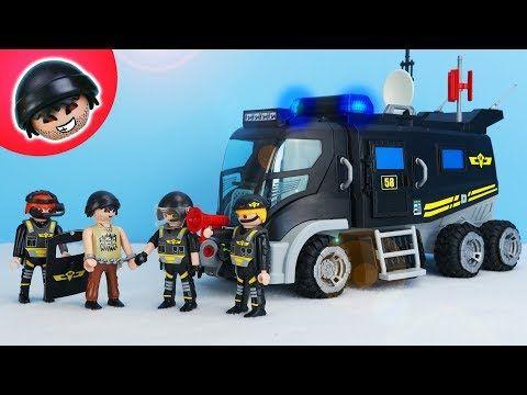 der neue playmobil sek truck - playmobil polizei