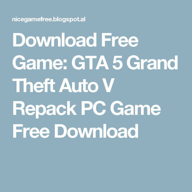 gta 5 download free for pc