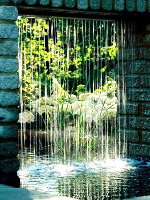 Fontaine De Jardin Moderne Nouveau Fontaine Mural Exterieur Fontaine ...