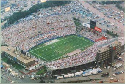 Foxboro Stadium Nfl Stadiums New England Patriots Pictures Football Stadiums
