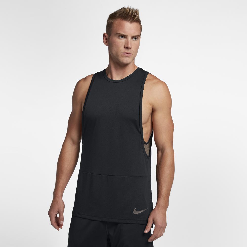 43c0d0e32989 Nike Dry Muscle Men s Training Tank Size Small (Black)