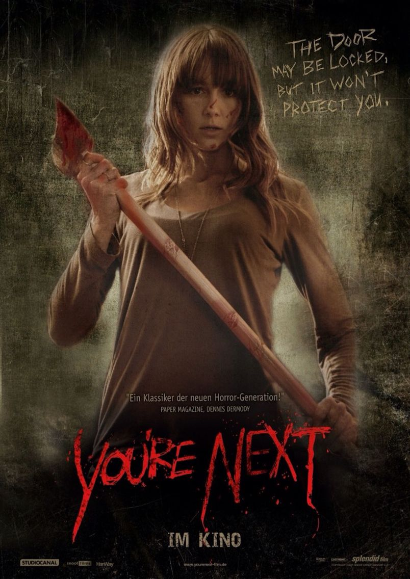 YOU'RE NEXT New Poster |Youre Next Zee Movie