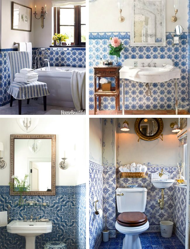 Azulejo Tile Dicorcia Design Tile Bathroom Tiny House Bathroom Powder Room Design