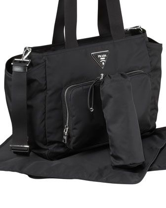 6663570051061e Prada Baby Bag, Black (Nero) | Cute Ideas for Babies | Designer baby ...