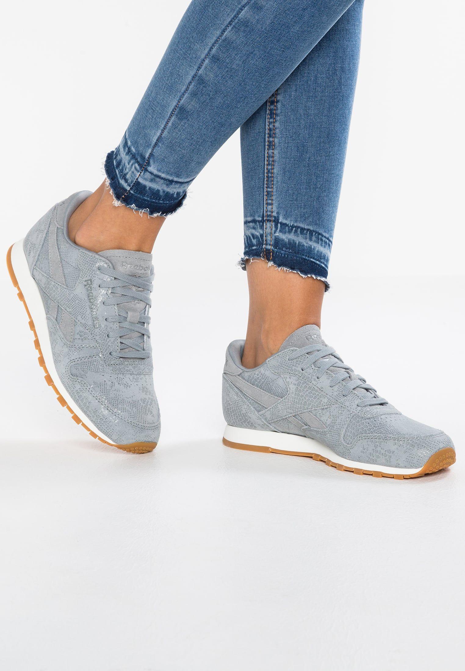 25e5ad900298e Chaussures Reebok Classic CLASSIC CLEAN EXOTICS - Baskets basses - flint  grey chalk gris  89