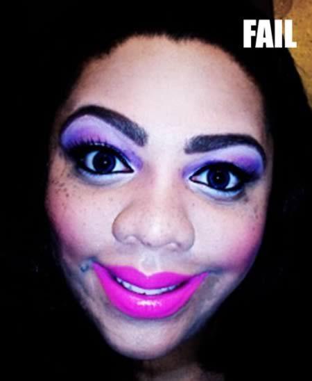 Desastres de maquillaje, conoce a estas linduras! - #Makeup #Fail ...