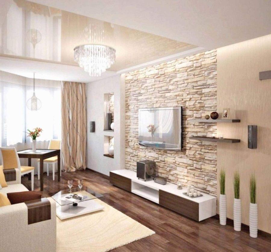 50 Wandfarbe Wohnzimmer Feng Shui Mit Creme Und Braun Living Room Decor Modern Stone Wall Living Room Home Stone wall living room decor