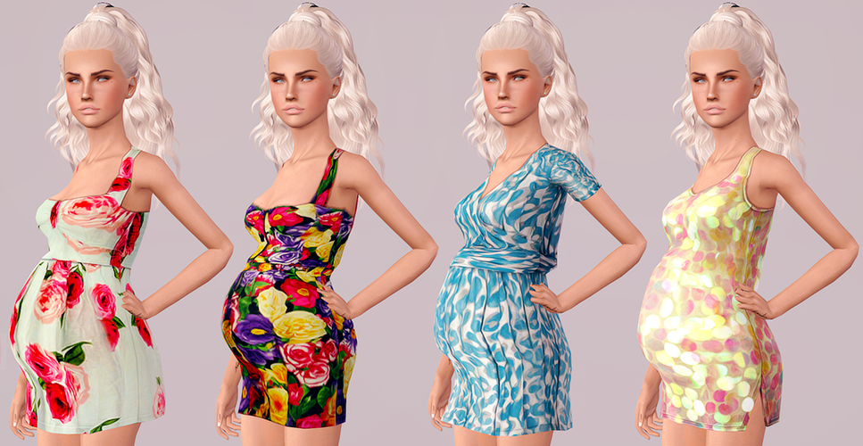 Sunny CC Finds, touchmypixels: Rusty Nail Dresses For Maternity ...
