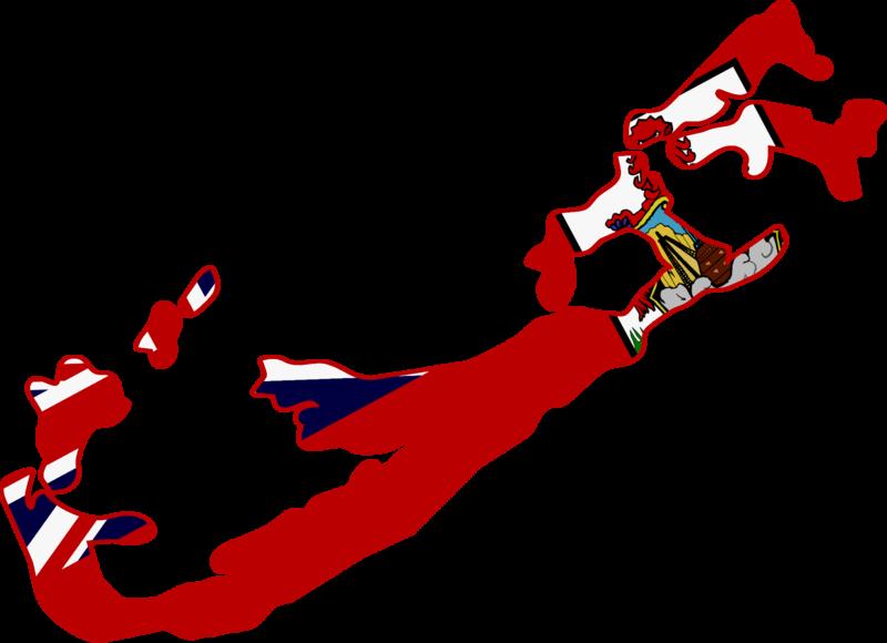 Italian Restaurant Logo With Flag: File:Flag Map Of Bermuda.png