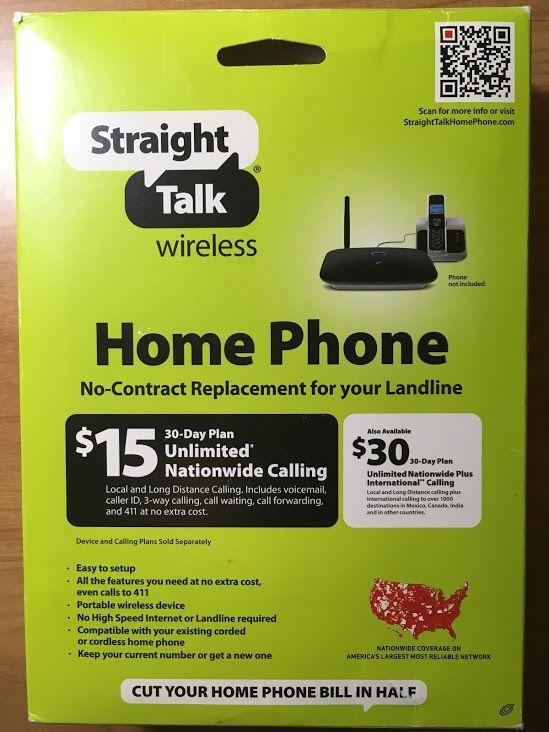 Straight talk landline