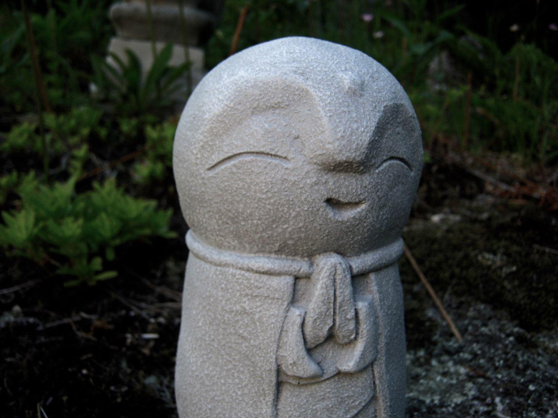children garden statues. Jizo Statue, Buddha, Concrete Statues, Buddhist Protector Of Children FIgure, Cement Garden Statues