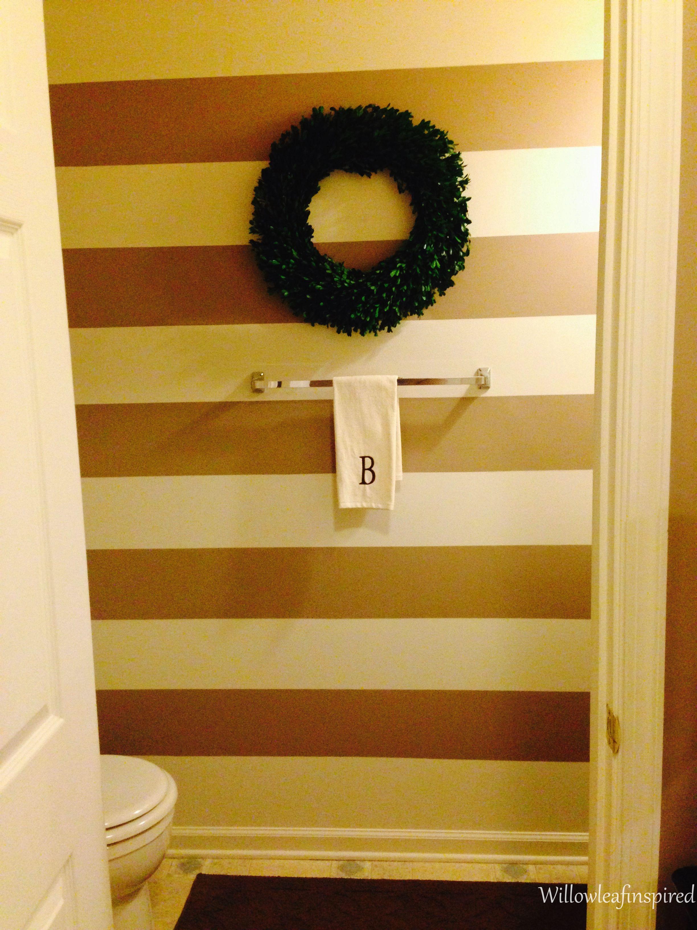Striped Wall | White Walls Group Ideas | Pinterest | Striped walls ...