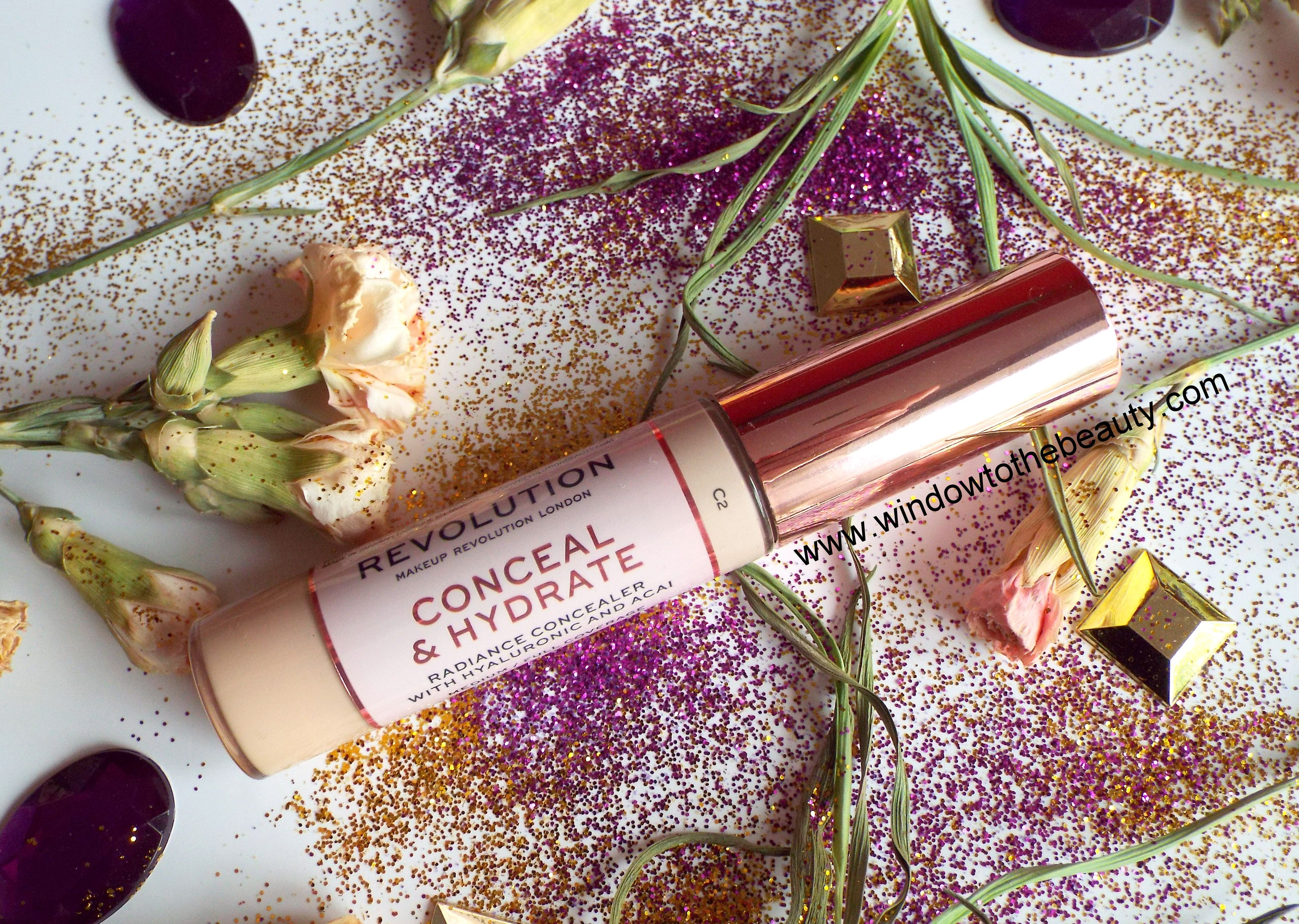 Revolution Conceal & Hydrate Concealer review and swatches