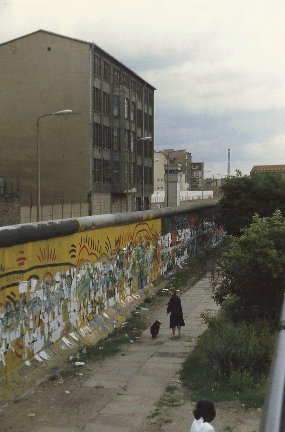 Berlin 1987 Berliner Mauer Berlin Berlin Hauptstadt