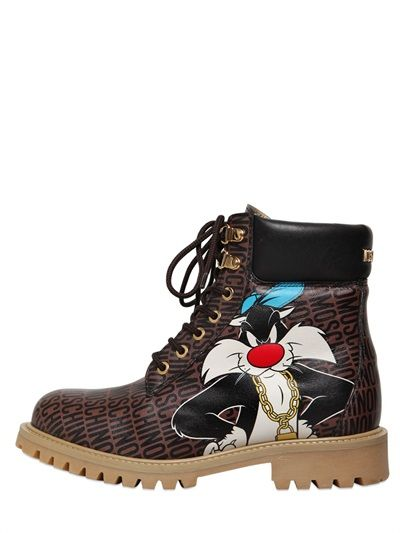 MOSCHINO Sylvester boot Looney Tunes