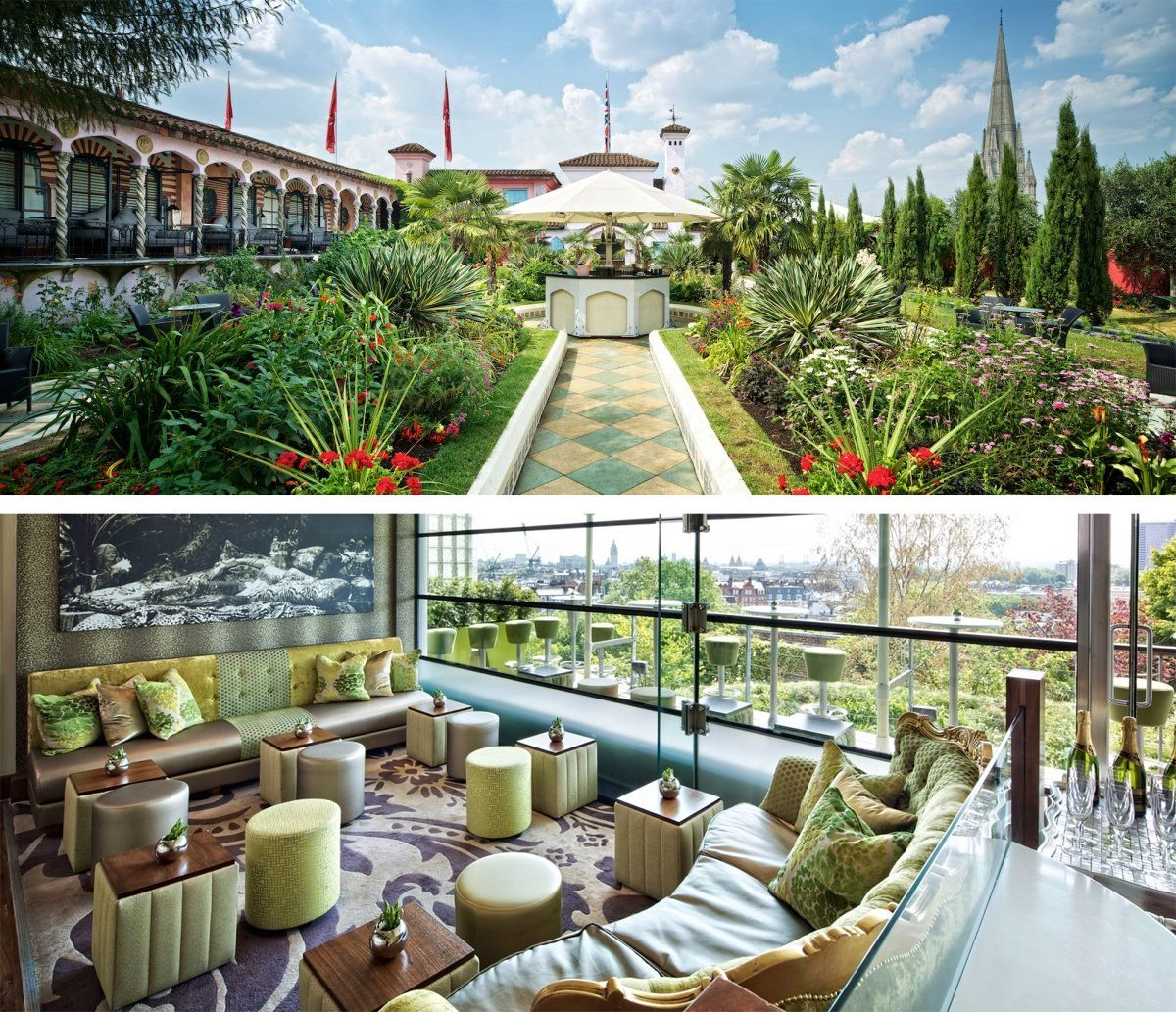 Kensington Roof Gardens The Roof Gardens Derry Toms With
