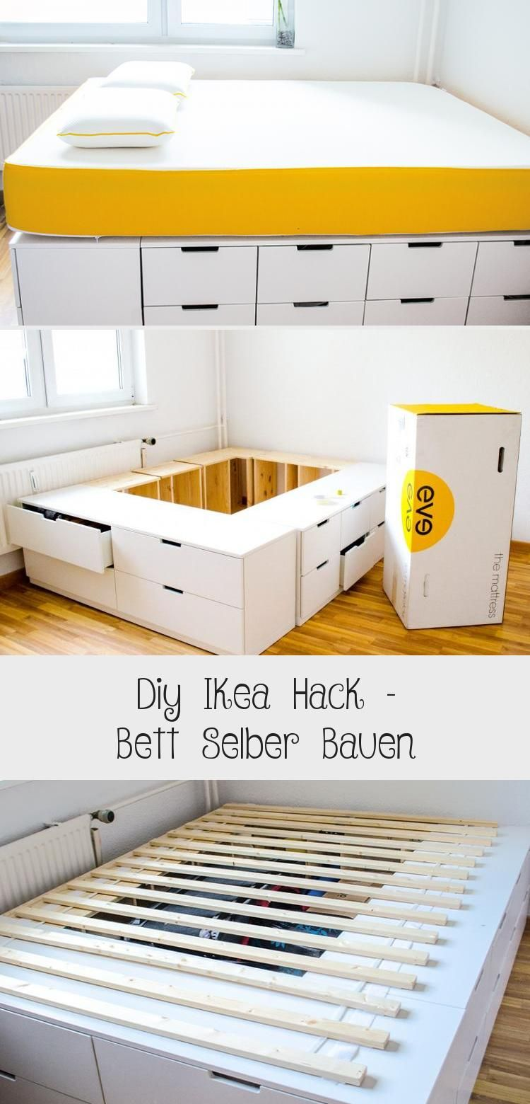 Diy Ikea Hack Bett Selber Bauen Ikea Diy