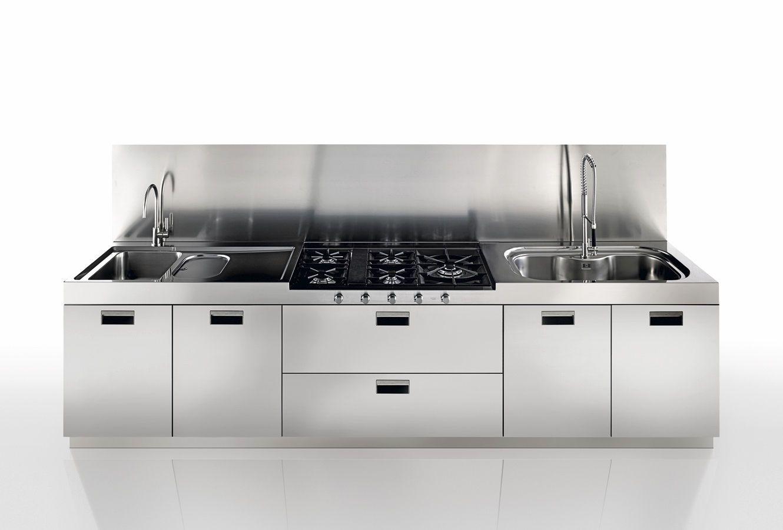 JN Aceros - Mueble de cocina de acero inoxidable.   Acero inoxidable ...