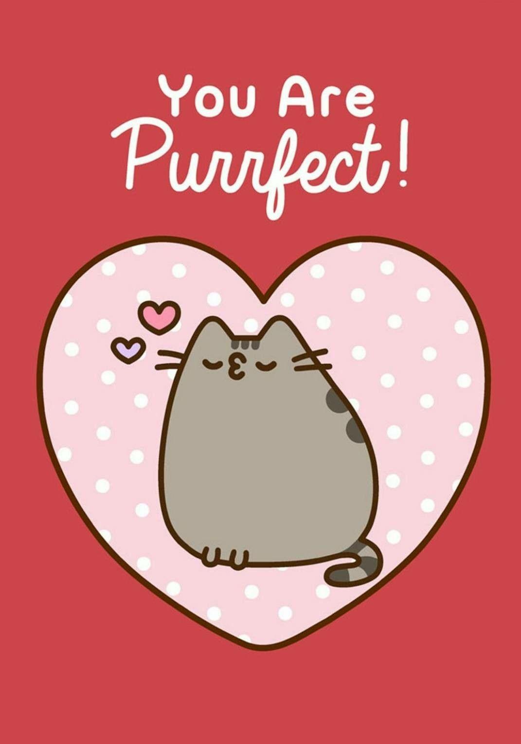 Pusheen Pusheen Cute Pusheen Valentines Pusheen Cat