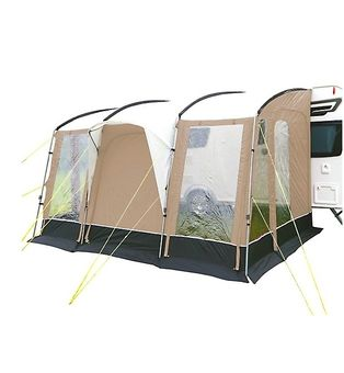 Sunncamp Strand 390 Porch Awning Praline Previous Year Model Sf7676 Norwich Camping Porch Awning Porch Mirror Table