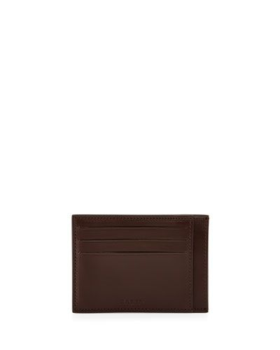 e87f7f85b9 BALLY Leather Card Case, Brown. #bally #bags #leather # | Bally Men ...