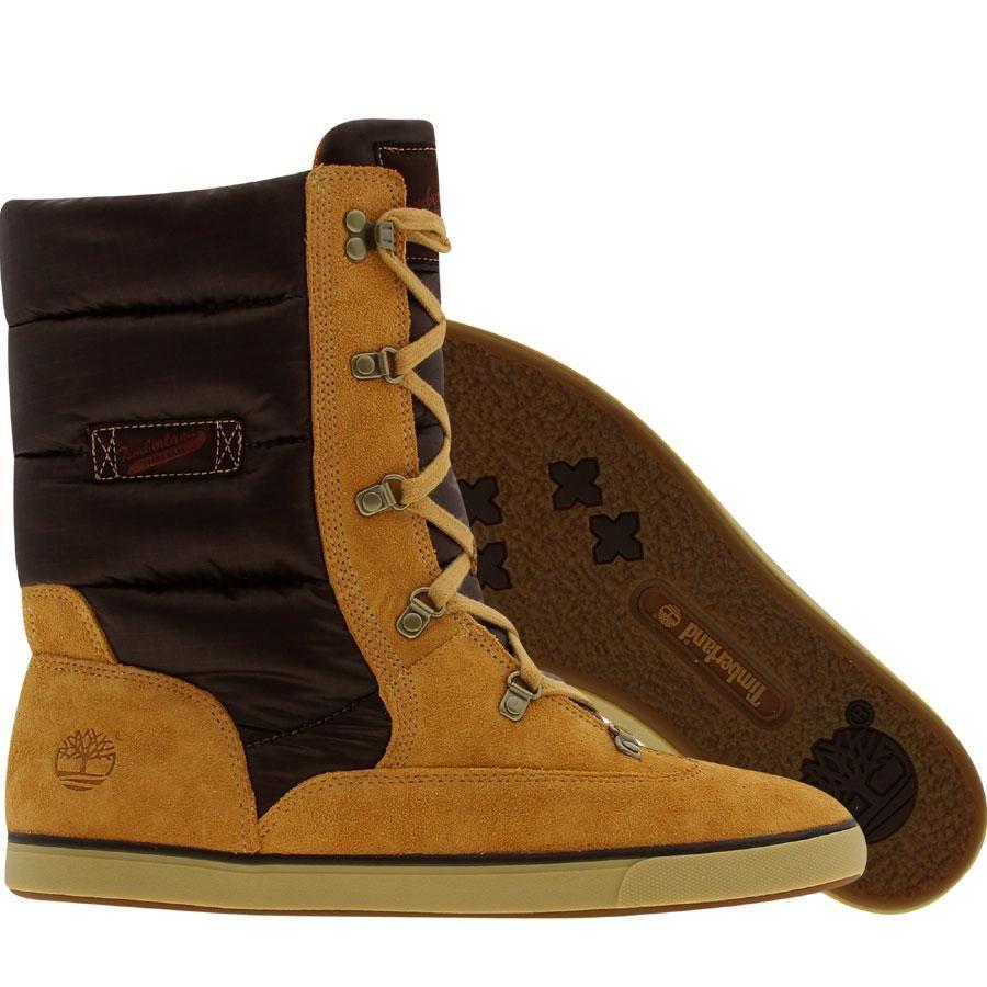 2c4d0d5b7871 Timberland Womens Deering Puff Boot (wheat) 17697 -  89.99