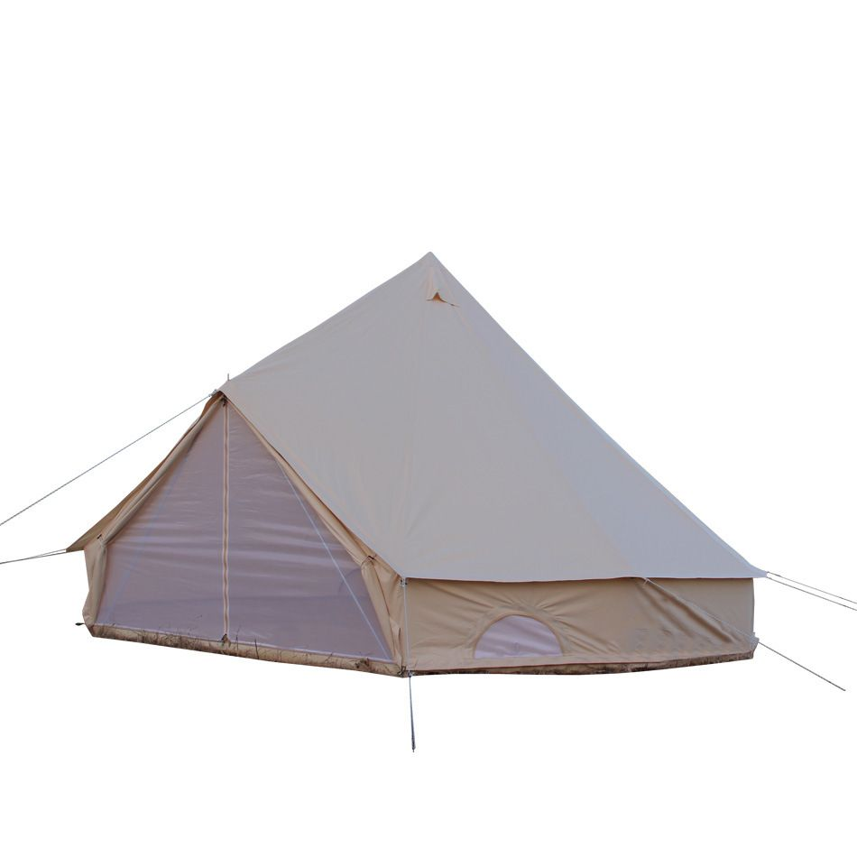 Top Style: Bell Tent Capacity: 6-10 Material: Canvas Usage