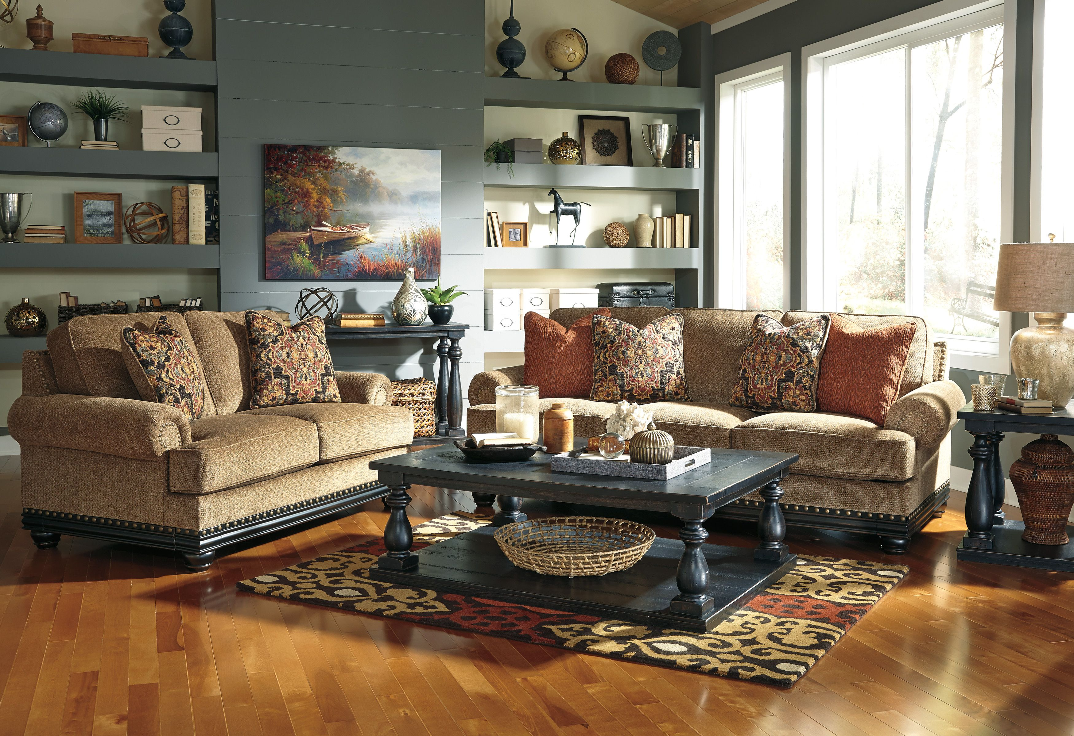 Ashley 937 Elnora Sofa With Images Living Room Collections