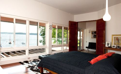 A view of Lake Champlain from bed?  That's a good goal.