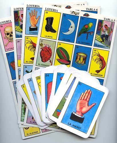 Mexican Loteria Bingo Game Great Way To Learn Spanish Words