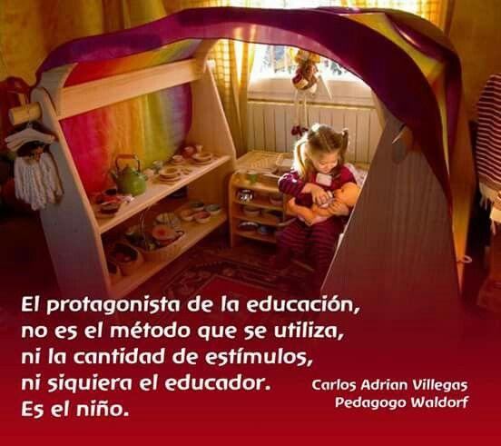 El protagonista de la educación..