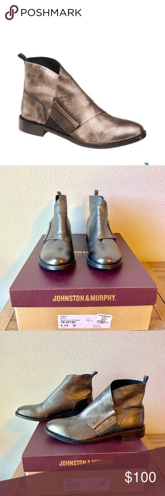 johnston & murphy lola bootie