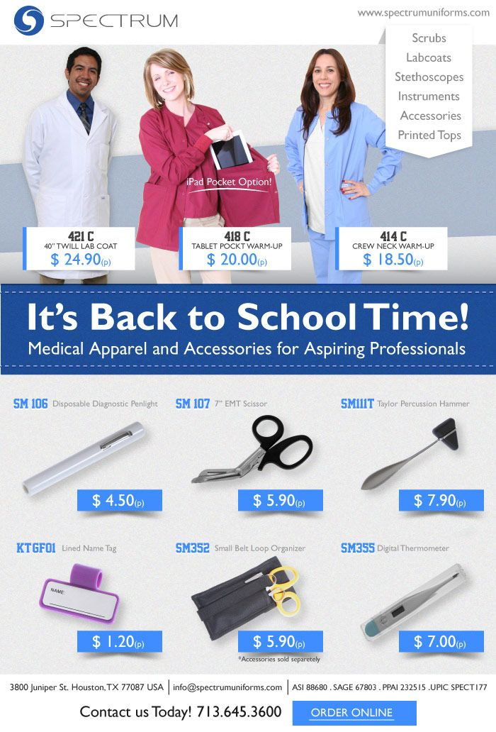 Back to School for the Medical Professional!