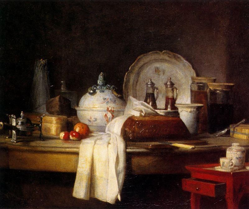 Image result for chardin the kitchen table