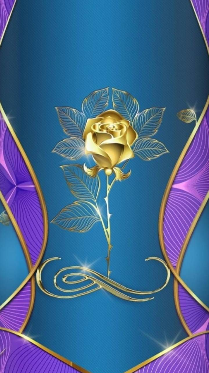 Download gold rose wallpaper by rainbowrose1993 5a