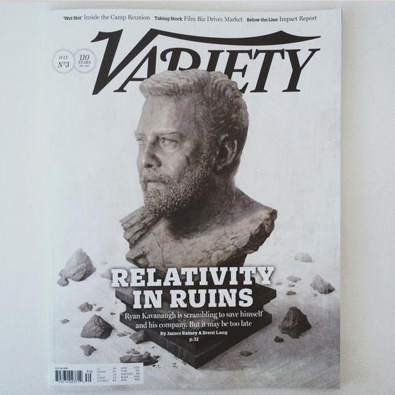Variety Magazine. Artwork by Sam Spratt.