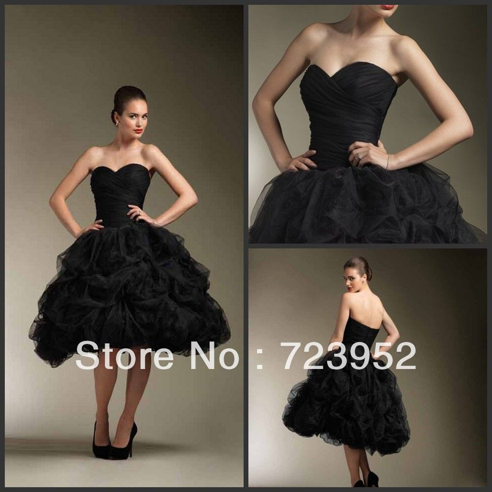Black Dresses For Weddings Cute
