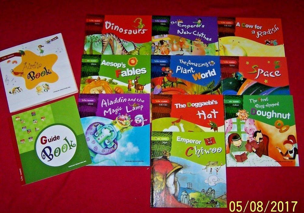 Korean WITH READERS Children's Level 1 Books Hardcover ...Korean Toddler Books