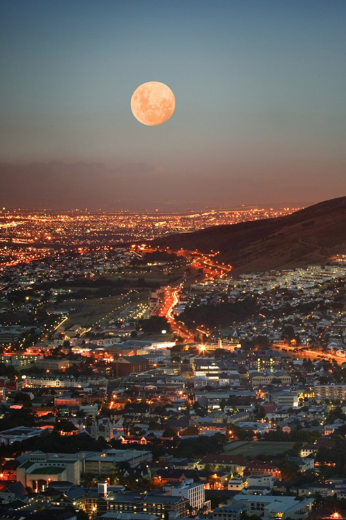 red moon in south africa - photo #32