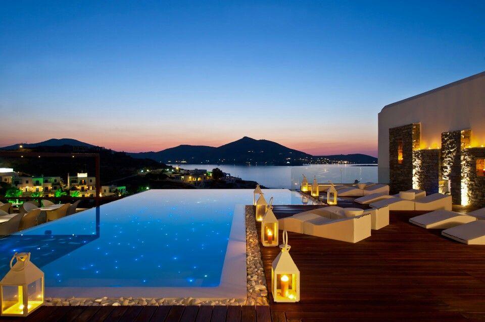Senia Hotel in Naoussa, Greece