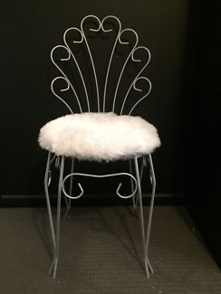 Vintage Retro Boudoir Fluffy Chair Armchairs Gumtree Australia