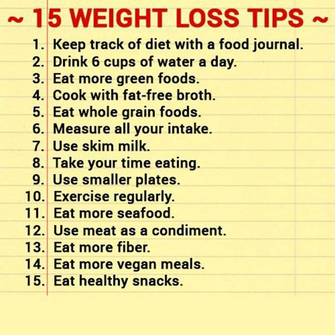 bediening werken tips to lose weight