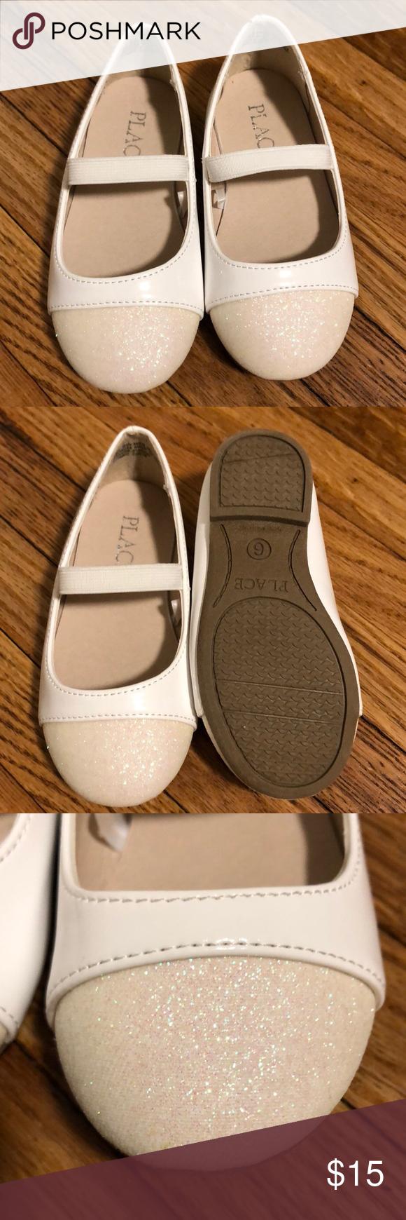 Toddler girls dress shoe White ballet