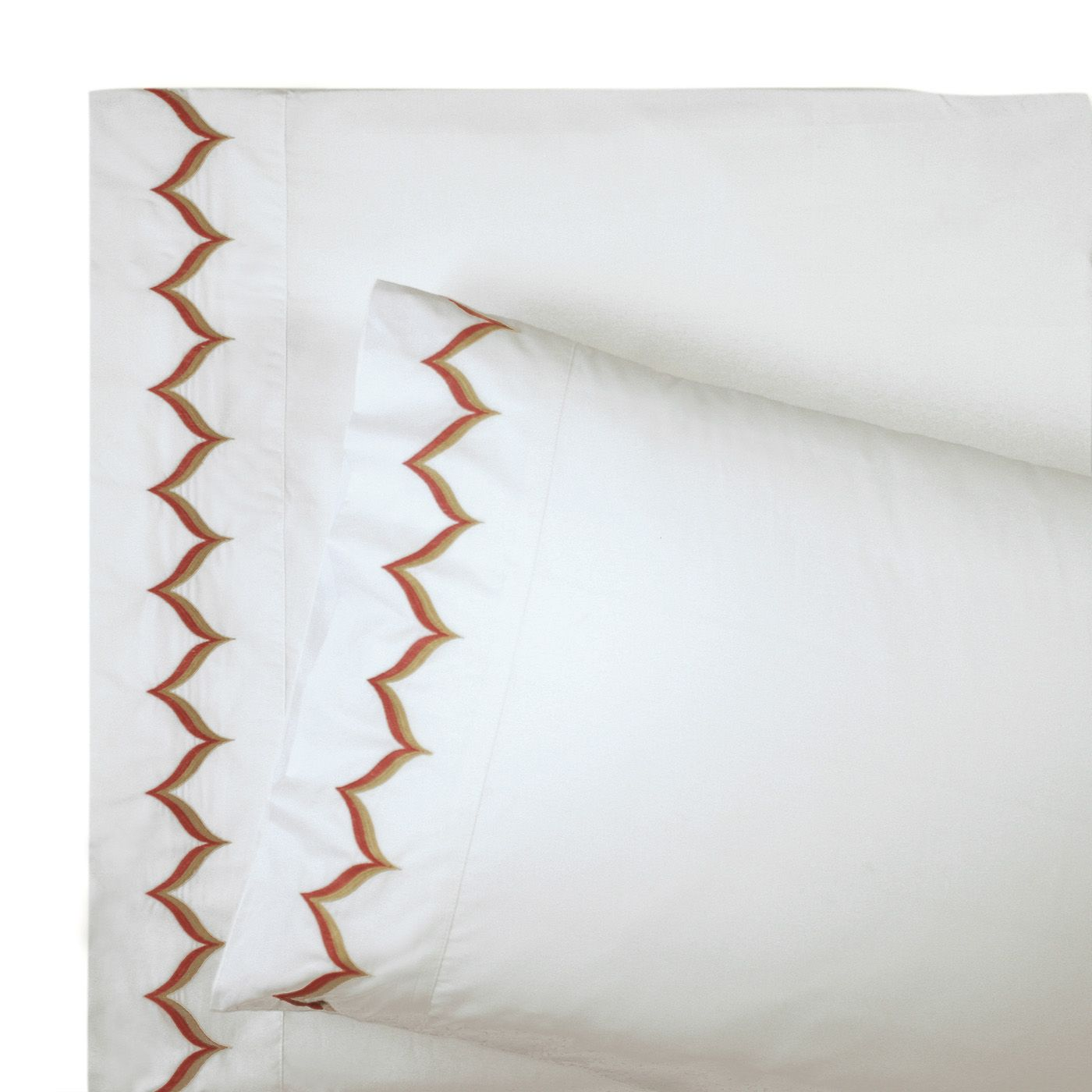 Jonathan Adler Pink Flame Sheet Set, on sale. Love these.